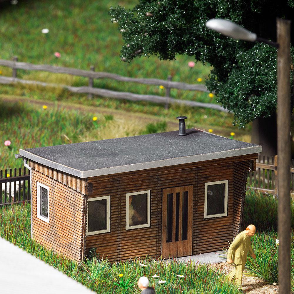 busch modellbau automodelle spiel und bastelmaterial holz gartenlaube artikel nr 1394. Black Bedroom Furniture Sets. Home Design Ideas
