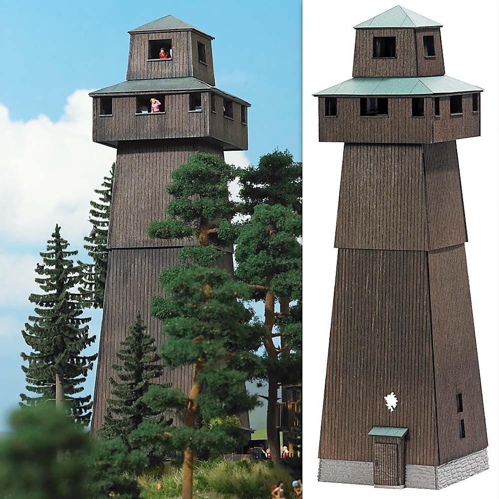 Busch modellbau automodelle spiel und bastelmaterial for Building a lookout tower