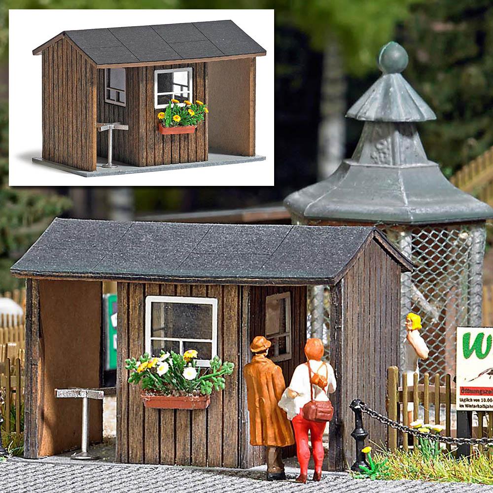 busch modellbau automodelle spiel und bastelmaterial kassenhaus artikel nr 1580. Black Bedroom Furniture Sets. Home Design Ideas