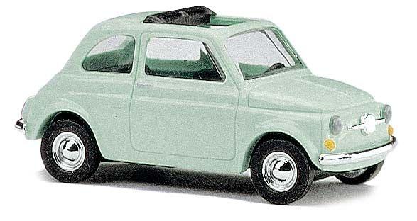 busch modellbau automodelle spiel und bastelmaterial fiat 500 f 1965 offenes. Black Bedroom Furniture Sets. Home Design Ideas