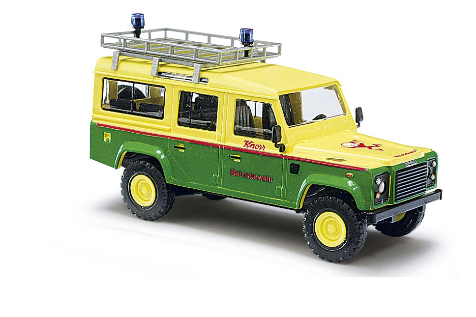 busch 50320 land rover defender knorr betriebswehr h0. Black Bedroom Furniture Sets. Home Design Ideas